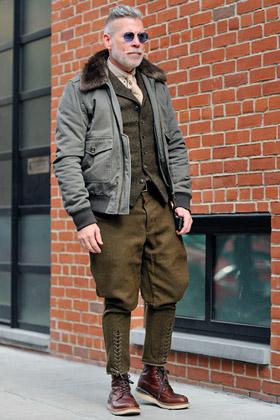 Monsieur Jerome; street style; NYFW