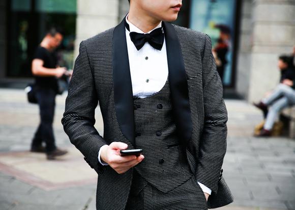 Dot Tuxedo 晚禮服 千代洋服 (3)