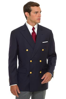 brooksbrothers Navy blazer preppy