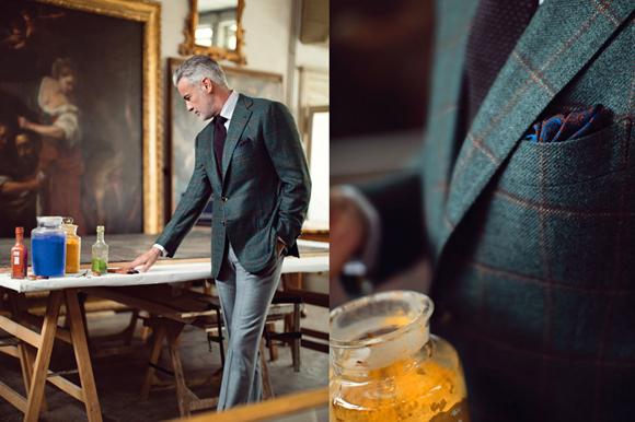 Cesare Attolini 胸袋 義大利 拿坡里 西裝 Napoli suit