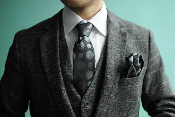 same pocket square tie