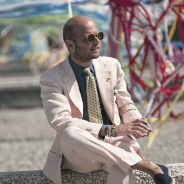 義大利人的盛夏對策,風靡網路拿坡里西裝